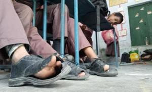 Uttar Pradesh basic education department admits shoes were of poor...