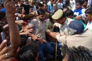 Following protests by different groups, the police had lodged 12 FIRs in which 285 people were named and 32 arrested