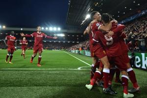 Liverpool stun Manchester City in Champions League first leg...