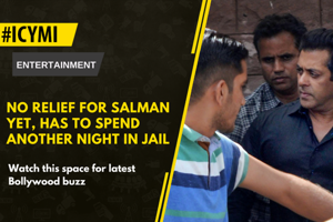 Bollywood superstar Salman Khan spent his first night at Jodhpur...