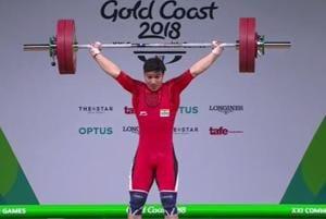 Deepak Lather wins bronze in men's 69 kg weightlifting at 2018...