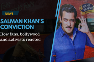 Actor Salman Khan's conviction in a 20-year-old blackbuck poaching...