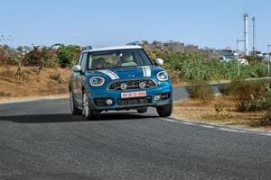 The Mini Countryman Cooper S stretches the tape at 4.3m and weighs 1.5 tonnes.