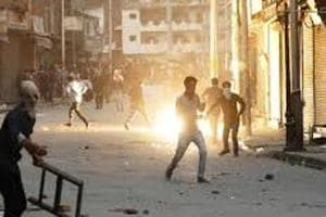 Students clashed with security personnel in Kashmir on Thursday after...
