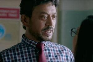 Blackmail movie review: Irrfan Khan effortlessly plays the role of a mean, wicked man who disguises himself as meek and average in front of everyone else.