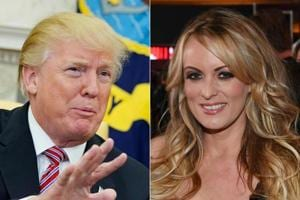 Donald Trump says he didn't know about $130k payment to porn star...