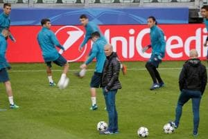 Real Madrid Coach Zinedine  Zidane rules out guard of honour for...