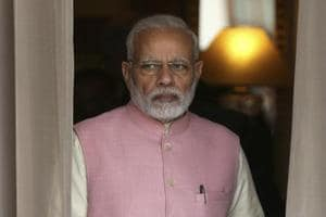 Prime Minister Narendra Modi in New Delhi onSaturday. The BJPMP's letter signals a growing discomfort among Dalit MPs of the party.