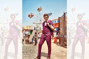 Nawazuddin Siddiqui's journey has been a quintessential Bollywood rags to riches story.  (Styling: Akshay Tyagi; Styling assistant: Mayuri Nivekar; Make-up and hair: Rajesh Nag; Wardrobe: Outfit, The Maroon Suit Company; lapel pin and pocket square, The Tie hub; bow tie, Zara; watch, Jaipur Watch Company; sunglasses, Opium Eyewear; Socks, Happy Socks; shoes, Trumpet Shoes)
