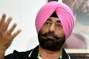 Sukhpal Singh Khaira, the leader of opposition in the Punjab Vidhan Sabha