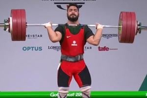 Vikas Thakur won the men's 94kg bronze medal in weightlifting at the 2018 Commonwealth Games in Gold Coast on Sunday.