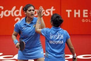 2018 Commonwealth Games: India beat Singapore in women's Table Tennis...