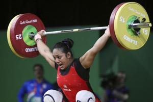 Punam Yadav won the gold medal in women's 69kg weightlifting at the 2018 Commonwealth Games.