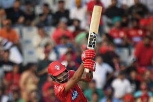 KL Rahul needed just 14 balls to bring up his maiden half-century for kings XI Punjab.
