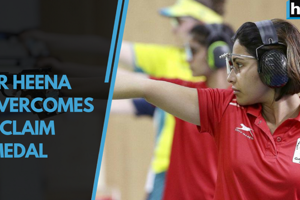 2018 CWG:Shooter Heena Sidhu overcame pain, avoided elimination to clinch...
