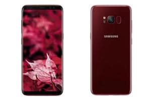 Samsung Galaxy S8 is also available in three colour options of midnight black, maple gold and orchid gray.