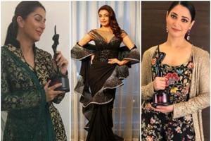Bhumika Chawla, KajalAggarwal and Tamannaah Bhatia won awards in different categories at the Apsara Awards 2018.