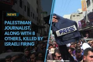 30-year-old Yasser Murtaja was killed by Israeli firing while he was...