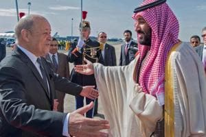 Syria,Iran nuclear deal on agenda as Saudi crown prince arrives in...