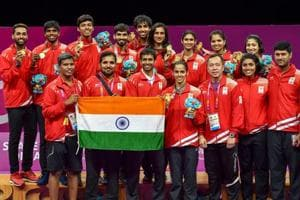 India continue strong showing at 2018 Commonwealth Games with three...
