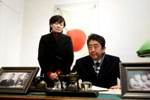 Japan's PM Abe apologises again as records scandals deepen mistrust