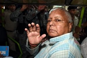 Former Bihar chief minister and Rashtriya Janta Dal chief Lalu Prasad Yadav.