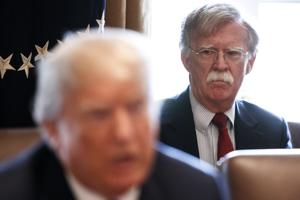 Trump's new national security adviser Bolton takes charge