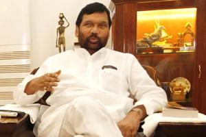 Union minister for consumer affairs and food & public distribution, Ram Vilas Paswan.