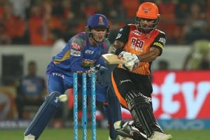 Shikhar Dhawan blasted his 29th IPLfifty as Sunrisers Hyderabad crushed Rajasthan Royals by nine wickets.  Get highlights of Sunrisers Hyderabad vs Rajasthan Royals here.
