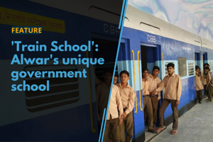 A government school in Rajasthan's Alwar is attracting students and...