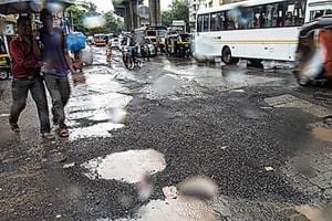 No respite from potholes in Mumbai this monsoon too?