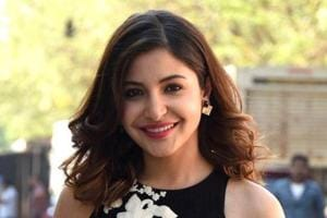 Anushka Sharma's Sabyasachi palazzo-set is made for all the star-print-lovers. See it in the photos below. (IANS File Photo)