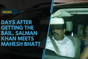 Days after getting bail, Bollywood actor Salman Khan was spotted...