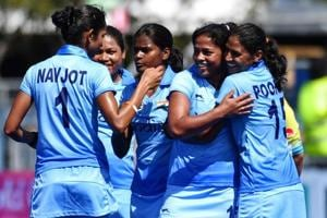 2018 Commonwealth Games, IND v SA, women's hockey live score: India...