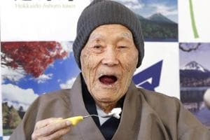 World's oldest man from Japan Masazo Nonaka's secret to long life is...