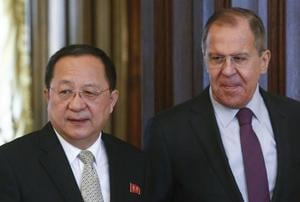 North Korean foreign minister makes rare Moscow visit amid diplomatic...