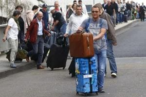 Hundreds of flights cancelled in Germany as airports hit by public...