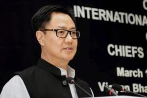 "Minister of state for home affairs Kiren Rijiju had said that NSCN-IM had dropped the issue of ""sovereignty"" in the peace political talks with the Centre."
