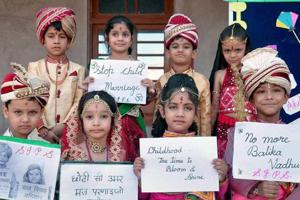 School students preventing child marriages to be felicitated
