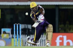 IPL 2018: Andre Russell hits 36-ball 88* to rally Kolkata Knight...
