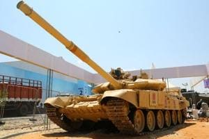 Global military firms showcase latest weapons at DefExpo