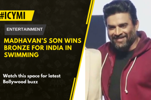 Actor R Madhavan is a proud father today. His 12-year-old son Vedaant...