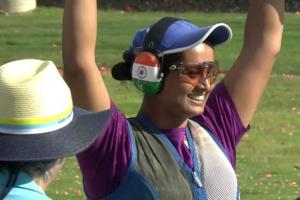 Indian shooter Shreyasi Singh won the women's double trap gold at the 2018 Commonwealth Games in Gold Coast on Wednesday.