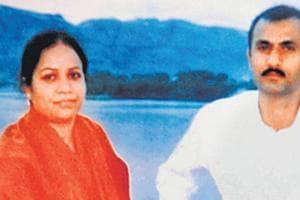 Sohrabuddin Shaikh and his wife Kausarbi.