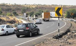 The S-curve, right after the tunnel on Khambatki ghat on Pune-Bengaluru highway, has been identified as an accident -prone spot by the highway police.
