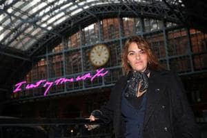 Tracey Emin's artwork at London's St Pancras station sends powerful...