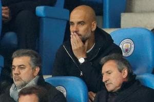 Pep Guardiola on the defensive after Manchester City's defeat to...