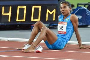 2018 Commonwealth Games: Hima Das finishes sixth in women's 400m final