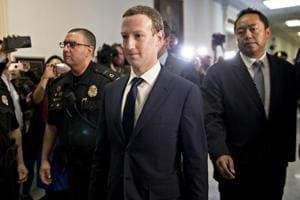 Facebook CEO Mark Zuckerberg says his personal data was shared by...