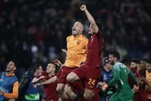 Champions League:A S Roma dump FCBarcelona out after miracle comeback